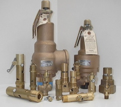 Air Compressor Safety Valves & Relief Valves